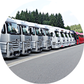 solutions transport grande flotte et sur mesure