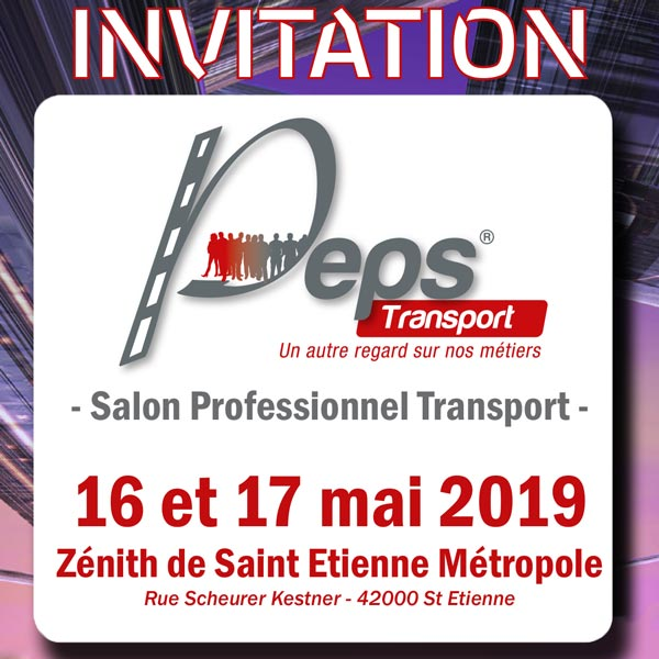 invitation PEPS Transport 2019